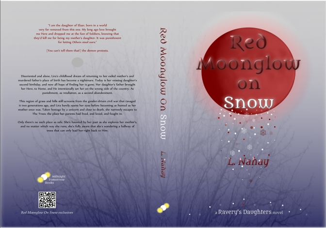 Red Moonglow on Snow (Book Trailer)